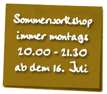 Tai Chi Sommerworkshop 2018